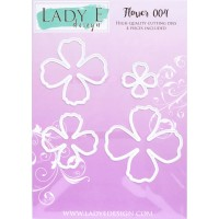 LADY E Design - Flower 004 Die