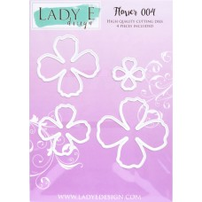 LADY E Design - Flower 004 Die