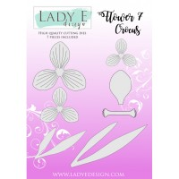 LADY E Design - Flower 007 Die