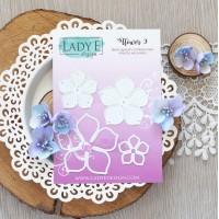 LADY E Design - Flower 009 Die