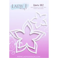 LADY E Design - Leaves 002 Die