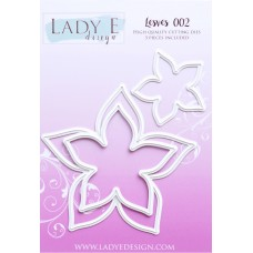 LADY E Design - Leaves 002 Die