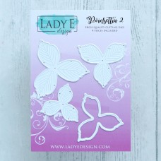 LADY E Design - Poinsettia 2 Die