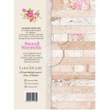 Lemoncraft - Sweet Secrets - BASIC A4 Paper Pad