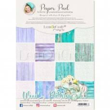 Lemoncraft - WOOD PATTERNS 03- BASIC A4 Paper Pad