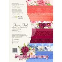 Lemoncraft - Happy Anniversary - Basic A4 Paper Pad