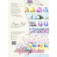 Lemoncraft - Spring Wishes - Basic A4 Paper Pad
