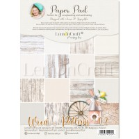 Lemoncraft - WOOD PATTERNS 02- BASIC A4 Paper Pad