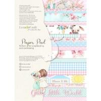 Lemoncraft - Girl`s Little World - Basic A4 Paper Pad