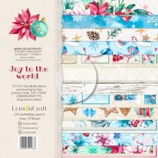 Lemoncraft - Joy To The World - 12x12 Paper Set