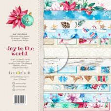 Lemoncraft - Joy to The World - 6x6 Paper Pad