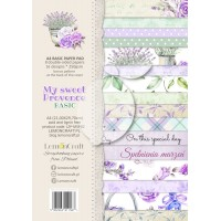 Lemoncraft - My Sweet Provence - Basic A4 Paper Pad