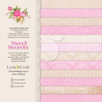 Lemoncraft - Sweet Secrets - BASIC 12x12 Paper Pad