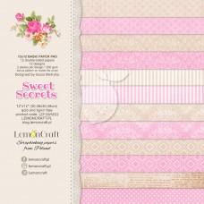 Lemoncraft - Sweet Secrets - BASIC 12x12 Paper Pad