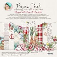 Lemoncraft - This Christmas- 12x12 Paper Set