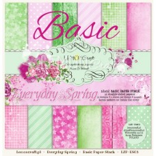 Lemoncraft - Everyday Spring - BASIC 12x12 Paper Pad