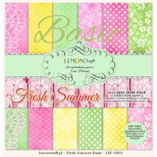 Lemoncraft - Fresh Summer - BASIC 12x12 Paper Pad