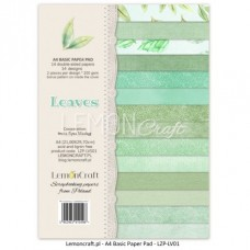Lemoncraft - Leaves - BASIC A4 Paper Pad