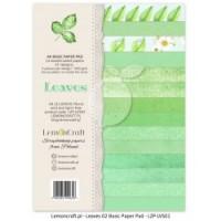 Lemoncraft - Leaves 02- BASIC A4 Paper Pad