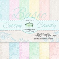 Lemoncraft - Cotton Candy - BASIC 12x12 Paper Pad