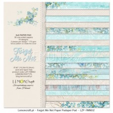 Lemoncraft - Forget Me Not - 6x6 Paper Pad
