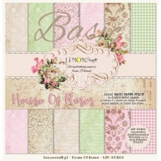 Lemoncraft - House Of Roses - BASIC 12x12 Paper Pad