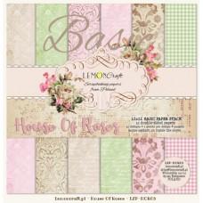 Lemoncraft - House Of Roses - BASIC 12x12 Paper Pad