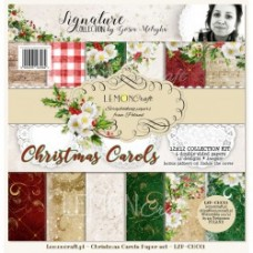 Lemoncraft - Christmas Carols - 12x12 Paper Set
