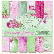 Lemoncraft - Everyday Spring - 12x12 Paper Set