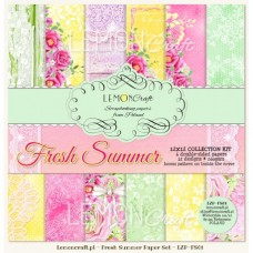 Lemoncraft - Fresh Summer - 12x12 Paper Set