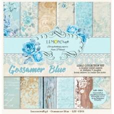 Lemoncraft - Gossamer Blue - 12x12 Paper Set