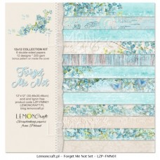 Lemoncraft - Forget Me Not - 12x12 Paper Set