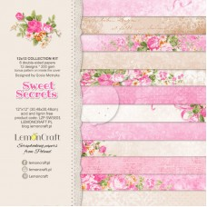 Lemoncraft - Sweet Secrets - 12x12 Paper Set