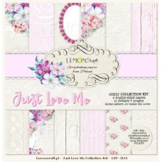 Lemoncraft - Just Love Me - 12x12 Paper Set