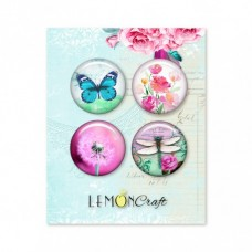 Lemoncraft - Set of 4 buttons - Daydream