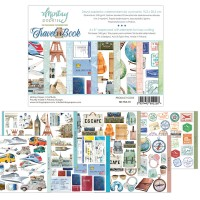 """Mintay -  Travel Book  -  Elements for cutting - 6 x 8"""""""