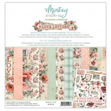 Mintay - Love Letters - 12x12 Paper Set