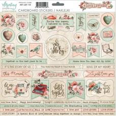 Mintay - Love Letters - Cardboard Stickers