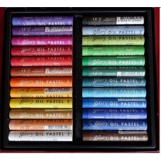 Mungyo Artists` Soft Oil Pastels 24