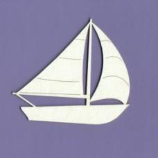 Sailboat 01 - 0399 Cardboard