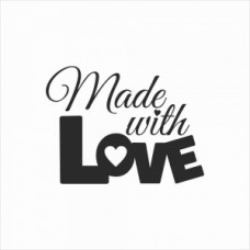 Made with love 03 small - P01-123M Stamp