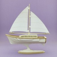 Sailboat - 1127 Cardboard