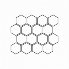 Honeycomb - P01-125 Stamp