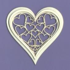 Heart Romance - 1129 Cardboard