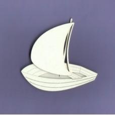 Sailboat 02 - 0400 Cardboard