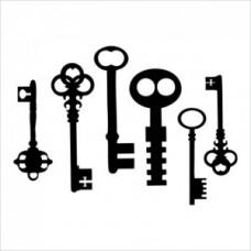 Keys - P01-154 Stamp