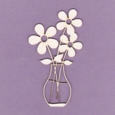 Flowers in a vase - 0710 Cardboard