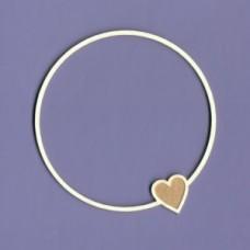 Simple love round - 1138 Cardboard