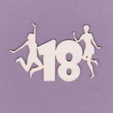 18th birthday - T0605 Cardboard