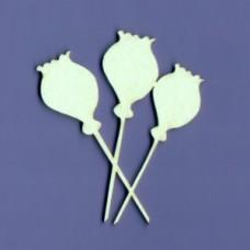 Poppies - 1067 Cardboard